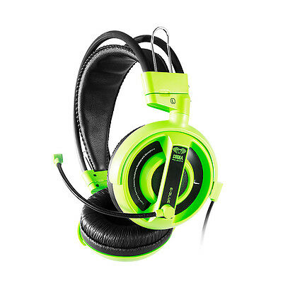 E-Blue Professional Green Gaming Headset