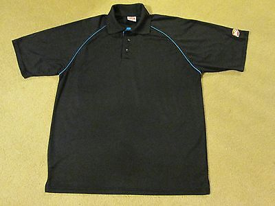 """Dairy Queen..""""dq""""..black Work Shirt...adult Large..."""