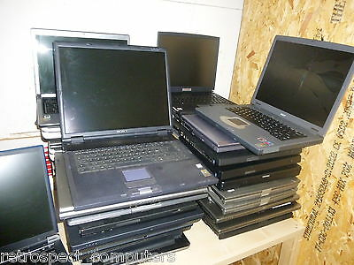 Joblot Of 40X Spares Or Repair Laptops Ibm,dell,sony,acer,
