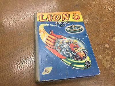 Old Lion Annual 1957 Book