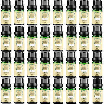 Discount Pure Aromatic Nature Plant Essential Oils 10ml Aromatherapy Therapeutic