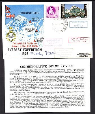 1976 Ascent of Everest British Army and Royal Nepaliese Army Everest Expedition