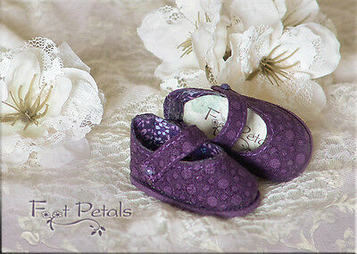 "FOOT PETALS CUSTOM Doll Shoes #38 for 13"" Effner Little Darling, 10"" Tonner Pats"