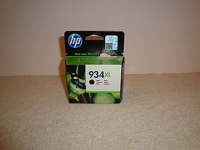 Genuine Hp 934Xl Black Ink Cartridge Brand New And Still Sealed Exp. 2017