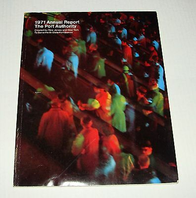 1971 The Port Authority Of New York Annual Report - Path Terminal Nyc Wtc