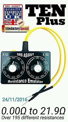 Airbag Resistor Tool Srs  0.0 - 21.9 Ohms Emulator Simulator Bypass Slight Mark