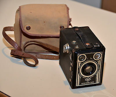 Vintage AGFA Synchro Box Camera Made in Germany