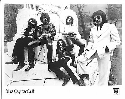 BLUE OYSTER CULT vintage Publicity PHOTO PRESS KIT '70s Psychedelic Heavy Metal