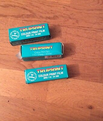 Truprint 110 colour film (out of date)