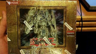 Yu-Gi-Oh Lost Millennium 1st EditionBooster Box New Factory Sealed GEM Mint Cond