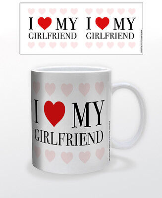 I Heart My Girlfriend 11 Oz Mug Heart Emotions Attraction Love Sweet Valentines!