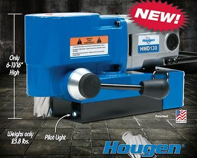 Hougen HMD130 Ultra Low Profile Magnetic Drill Replaces HMD115 & HMD150 USA MADE