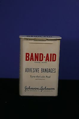 Vintage Tin Band-Aid Container