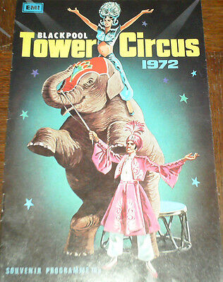 Blackpool Tower Circus Programme 1972
