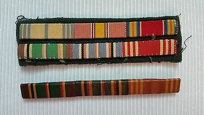 2 Vintage U.S. Army Ribbons, 1 Pin Back and 1 Cloth
