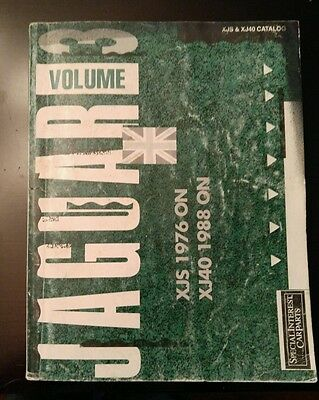 Vintage Jaguar XJS & XJ140 Parts Catalog TONS OF PICS & DIAGRAMS Great Reference