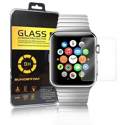 100%Genuine Tempered Glass Screen Protector For apple watch 42mm