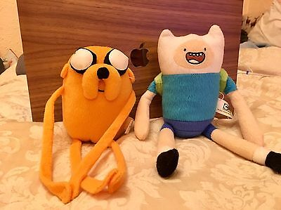 Jake The Dog And Finn The Human Adventure Time Soft Toys Cartoon Network