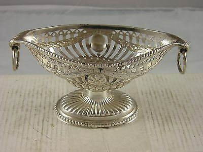 Quality 1891 Victorian Silver Pierced Dish 95 grams Nathan Hayes