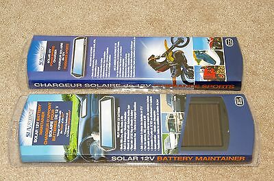 Sunforce Coleman Solar Panel Battery Charger Maintainer 2 Pieces Brand New