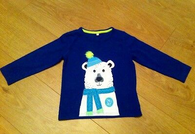 Super Cute Winter long sleeve Top Age 2-3 From M & S