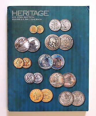 Heritage US Coin Auction Catalog June 2016 Long Beach Sale # 1236 NEW!