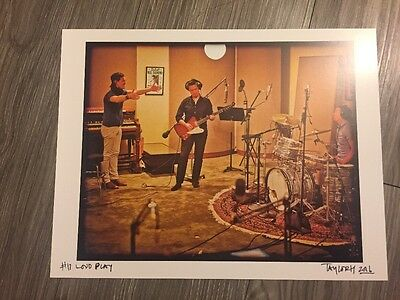 New Rare Taylor Hanson Signed And Numbered Limited Loud Play Package