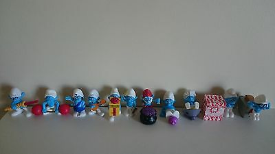 The Smurfs McDonald's Happy Meal figurines