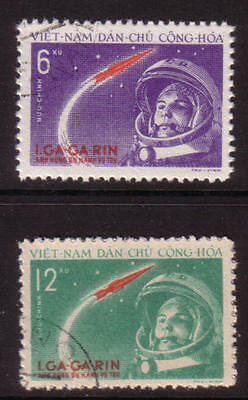 PG-A640 SPACE - Vietnam, 1961 Gagarin, First Man In Space, Set Used