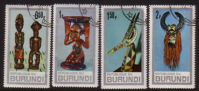 PG-A647 BURUNDI - Mask, Fine Selection Of Stamps Used