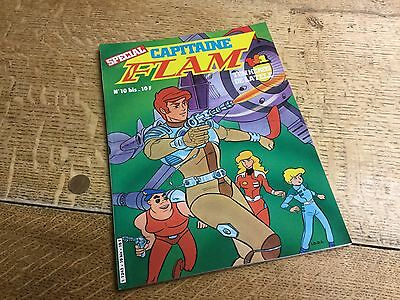 Capitaine Flam No10 French Comic Book 1981