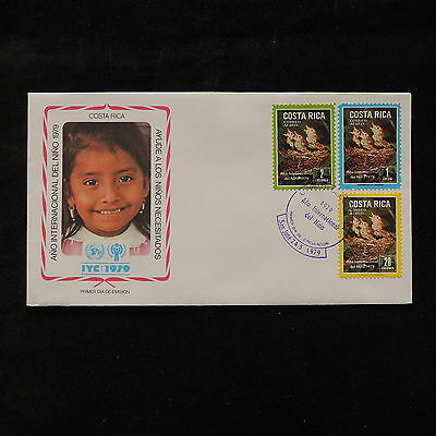 PG-A689 COSTA RICA - Fdc, 1979, International Year Of Child Cover
