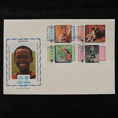 PG-A690 SWAZILAND IND - Fdc, 1979, International Year Of Child Cover