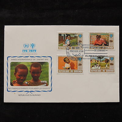 PG-A691 BURUNDI - Fdc, 1979, International Year Of Child Cover