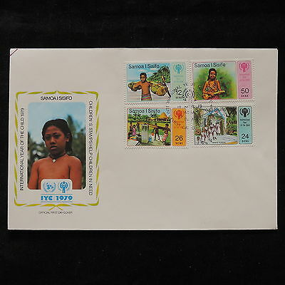 PG-A694 SAMOA I SISIFO - Fdc, 1979, International Year Of Child Cover