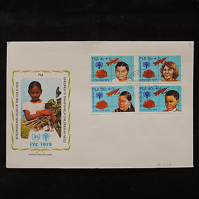 PG-A697 FIJI IND - Fdc, 1979, International Year Of Child Cover