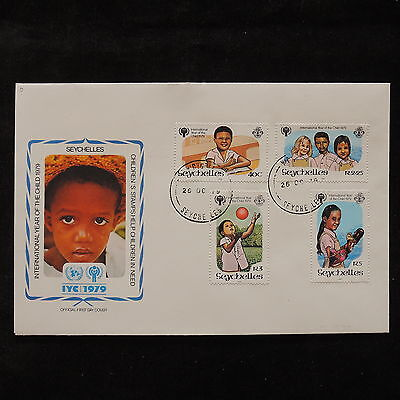 PG-A698 SEYCHELLES IND - Fdc, 1979, International Year Of Child Cover