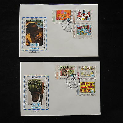 PG-A702 MOZAMBIQUE IND - Fdc, 1979, International Year Of Child Covers