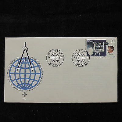 PG-A720 SOUTH AFRICA IND - Fdc, 1973, Tellurometer 25Th Cover