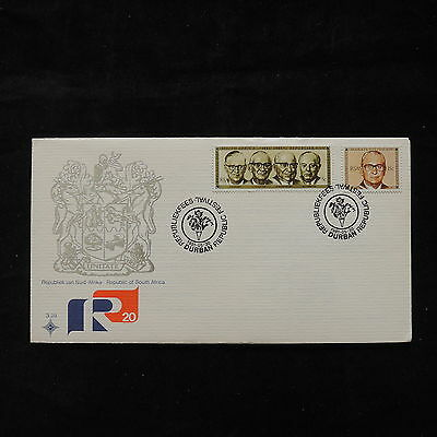 PG-A722 SOUTH AFRICA IND - Fdc, 1981, Durban Republic Festival Cover