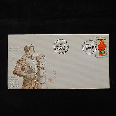 PG-A723 SOUTH AFRICA IND - Fdc, 1979, 50Th Anniv. Of Fak Cover