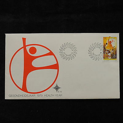 PG-A724 SOUTH AFRICA IND - Fdc, 1979, Health Year Cover