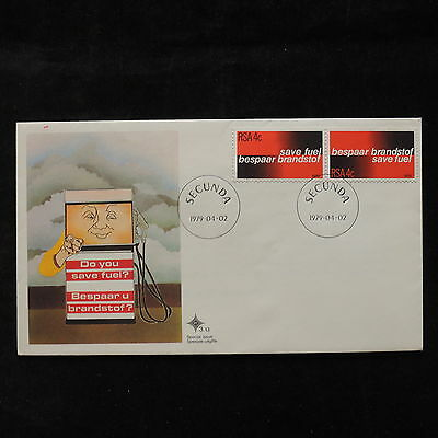 PG-A725 SOUTH AFRICA IND - Fdc, 1979, Save Fuel Cover