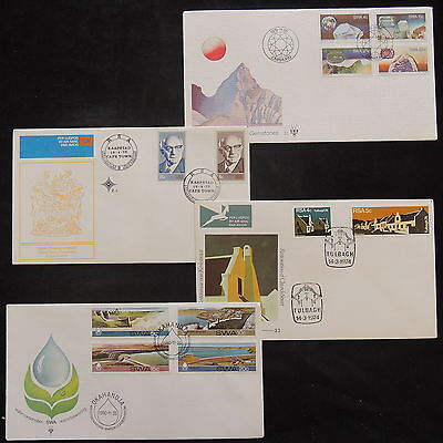 PG-A912 SOUTH AFRICA IND - South West Africa, Special Cancel, Lot 4 Fdc Covers