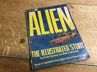 Alien: The Illustrated Story 1979 Comic Book (Futura)