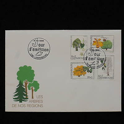PG-B017 LUXEMBOURG - Nature, 1995 Fdc, Trees Of Luxembourg Cover