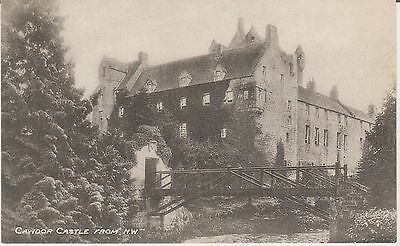 Early Postcard -Cawdor Castle - From N.w. - Nairnshire  -Real Photo