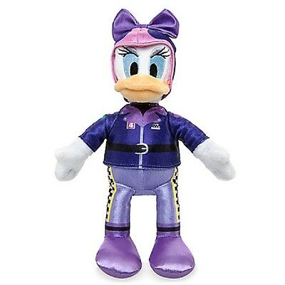 "Disney Store Mickey & Roadster Racers Daisy Duck Plush 9 1/2"" H"