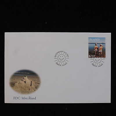PG-B065 ALAND - Fdc, 2003 Seaside Cover