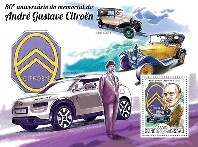 Z08 IMPERFORATED GB15213b GUINEA-BISSAU 2015 Andre-Gustave Citroen MNH ** Postfr
